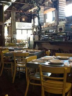 El Taller Baja Med Cocina - Tijuana, BC table tops and chairs