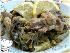 ΑΡΝΑΚΙ ΦΡΙΚΑΣΕ ΜΕ ΜΑΡΟΥΛΙΑ!!! - Νόστιμες συνταγές της Γωγώς!