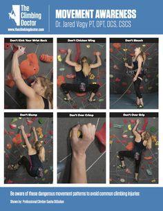 climbing Movement awareness