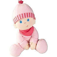 Uhhh, wie niedlich. Das ist Luisa, eine kuschelig weiche Puppe von HABA. Wenn das kein perfektes Geschenk für ein Baby ist!