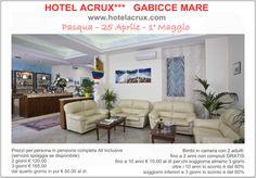 Guarda le promozioni che ti abbiamo riservato.  Tutti i dettagli sul nostro sito: www.hotelacrux.com