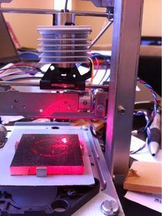 Home-made CNC laser engraver | Raspberry Pi