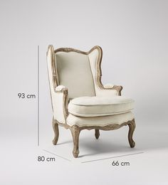Swoon Editions Armchair, French style in Oatmeal - £499