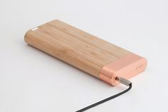 designbinge:  If its copper or wood you got my vote.Bamboo Battery   by Jose González