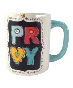 Look what I found on #zulily! 'Pray' Mug #zulilyfinds