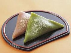 "Japanese Sweets, 八つ橋 ""Yatsu-hashi."" Famous Kyoto souvenir."