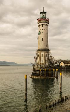 Lindau LIGHTBOUSE, Germany ~ By Europe Trotter on 500px _____________________________ Reposted by Dr. Veronica Lee, DNP (Depew/Buffalo, NY, US)
