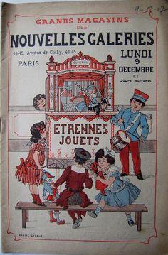 Catalogue Jouets Les Nouvelles Galeries 1907