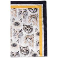 adidas by Stella McCartney Cat Print Scarf