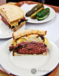 Pastrami Sandwich from Katz's Deli-205 East Houston Street. #eatlikealocal #nyc