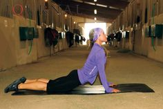 AQHA: 12 Yoga Tips for Equestrians