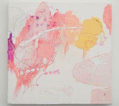 Mayako Nakamura, Japan, Ahmon'do no hana, 2011, Oil on canvas, pigment, graphite, coloured pencil