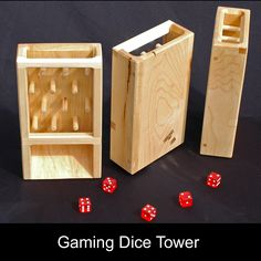Brian Beaupre saved to Board result for kemet board game pimp diy Simple Wooden Toy Projects You Can Do Yourself Woodworking Toys, Woodworking Projects, Small Wood Projects, Projects To Try, Wood Dice, Dice Tower, Dice Box, Nerd Crafts, Diy Games