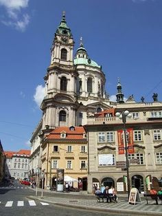 Lesser Town in Prague, #czechrepublic #beautifulplaces