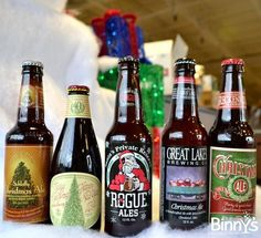 Christmas Beer, Christmas Cheer! #craftbeer #holidays #Christmas #beer #drinklocal