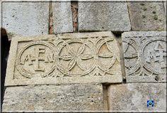 Quintanilla de Las Viñas (Burgos). Posibles letras de Flamona, fundadora del monasterio?