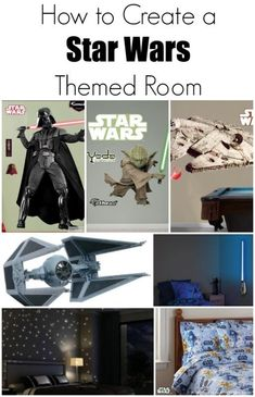 How to create a Star Wars themed bedroom!
