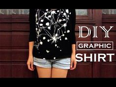 Urban Outfitters Inspired Graphic Shirt   DIY Graphic Tee