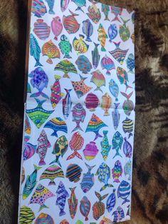 Lost Ocean Fishes Johanna Basford