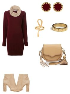 """""""Untitled #159"""" by paty8797 ❤ liked on Polyvore featuring Maison Margiela, FAY, Gianvito Rossi, Rebecca Minkoff, Rachel Entwistle, House of Harlow 1960 and Dinh Van"""