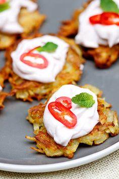 Картофельные Rosti с Тарамосалата