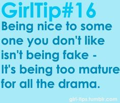 Important to remember ladies, especially when its someone we REALLY can't stand.. Sign Quotes, Me Quotes, Funny Quotes, Mottos To Live By, Quotes To Live By, Girl Code Book, Inspirational Words Of Wisdom, Girl Tips, Story Of My Life
