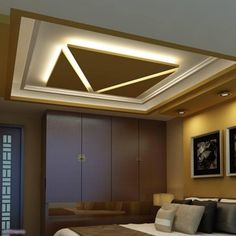Startling Tips: False Ceiling Bedroom House wooden false ceiling design.False Ceiling Hall Lighting false ceiling modern for kids. Ceiling Design Living Room, Bedroom False Ceiling Design, False Ceiling Living Room, Home Ceiling, Bedroom Ceiling, Ceiling Beams, Ceiling Lights, Office Ceiling, Ceiling Plan