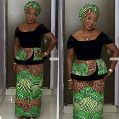 Ankara Peplum Styles 2017 You Might Have MissedLatest Ankara Styles and Aso Ebi Styles 2020 African Print Clothing, African Print Dresses, African Print Fashion, African Wear, African Attire, African Fashion Dresses, African Women, African Style, African Beauty