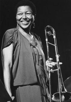 MELBA LISTON, Jazz musician/composer