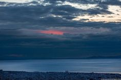 Blue Hour | Sunset over the Gulf of Patras, Greece.♥