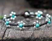 """the best etsy sight for leather and bead jewelry - """"brasslady"""""""