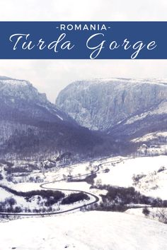 The Winter Face of Turda Gorge | ROMANIA