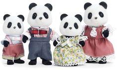 Calico Critters Wilder Panda Family Set