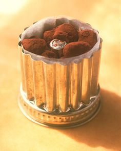 These chocolate truffles get sophisticated smoothness from the addition of Armagnac. You can substitute any other type of liqueur if you prefer, such as orange, ginger, raspberry, or hazelnut.