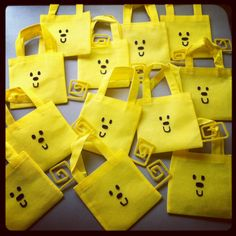 Wow Wow Wubbzy Goody Bags by theRADandLOVELIES on Etsy, $3.00