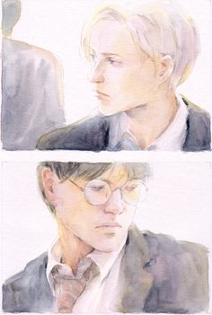 Harry and Draco by ~lillithium on deviantART