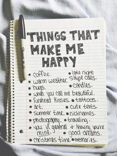 Things that make me happy!!!
