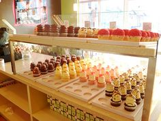 Found via Tumblr and am searching for this shop. Those cupcakes look amazing!