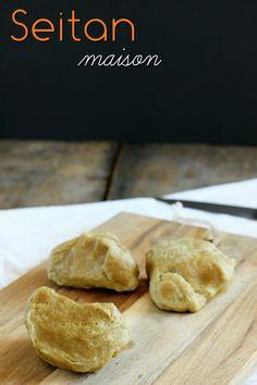 Le seitan maison ! Simple à préparer grâce à un ingrédient tout simple... Et quelques astuces ! Seitan Recipes, Veggie Recipes, Vegetarian Recipes, Healthy Recipes, Go Veggie, Food Trends, Protein Foods, Perfect Food, Raw Vegan