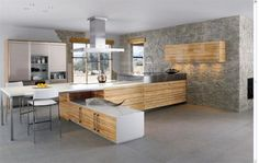 Minimalist and Contemporary Kitchen  www.minimalismissimple.com