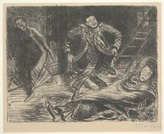 'Desperate Dance' by Ernst Barlach | © Dallas Museum of Art/WikiCommons