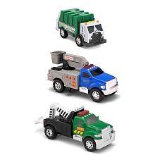 "Tonka Toughest Minis 3pk - Garbage Truck, Tow Truck & Cherry Picker - Shelcore - Toys""R""Us"