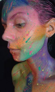 Make up organico en colores