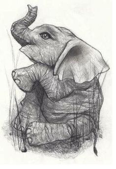 sitting elephant tattoos - Google Search