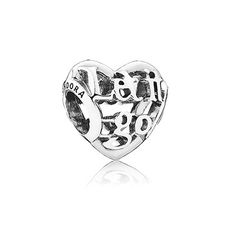 This intricate heart, featuring an inspiring quote from the Disney movie Frozen, will not only enhance your bracelet styling with its pretty look, but it will also serve as a reminder to stay optimistic and embrace life with an open heart. #PANDORAlovesDisney