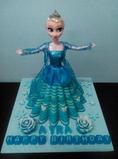 Elsa Jelly Cake