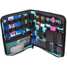 Does your man love gadgets?? A tech organizer comes highly recommended by husbands!  This ButterFox Organizer gets great reviews, as well as this one by Skooba. ~ She Picks! 2014 - Or so she says...