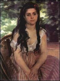 Lise ou La Bohémienne - Auguste Renoir
