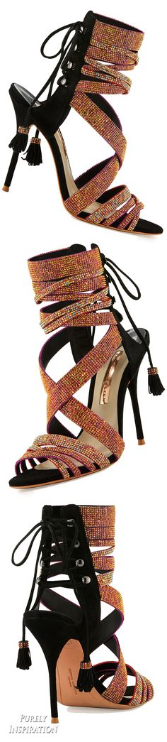 Sophia Webster Adeline Crystal Lace-Up Sandal Women's Shoes | Purely Inspiration
