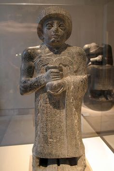 Diorite statuette of the Sumerian King Gudea, c. 2120 BC